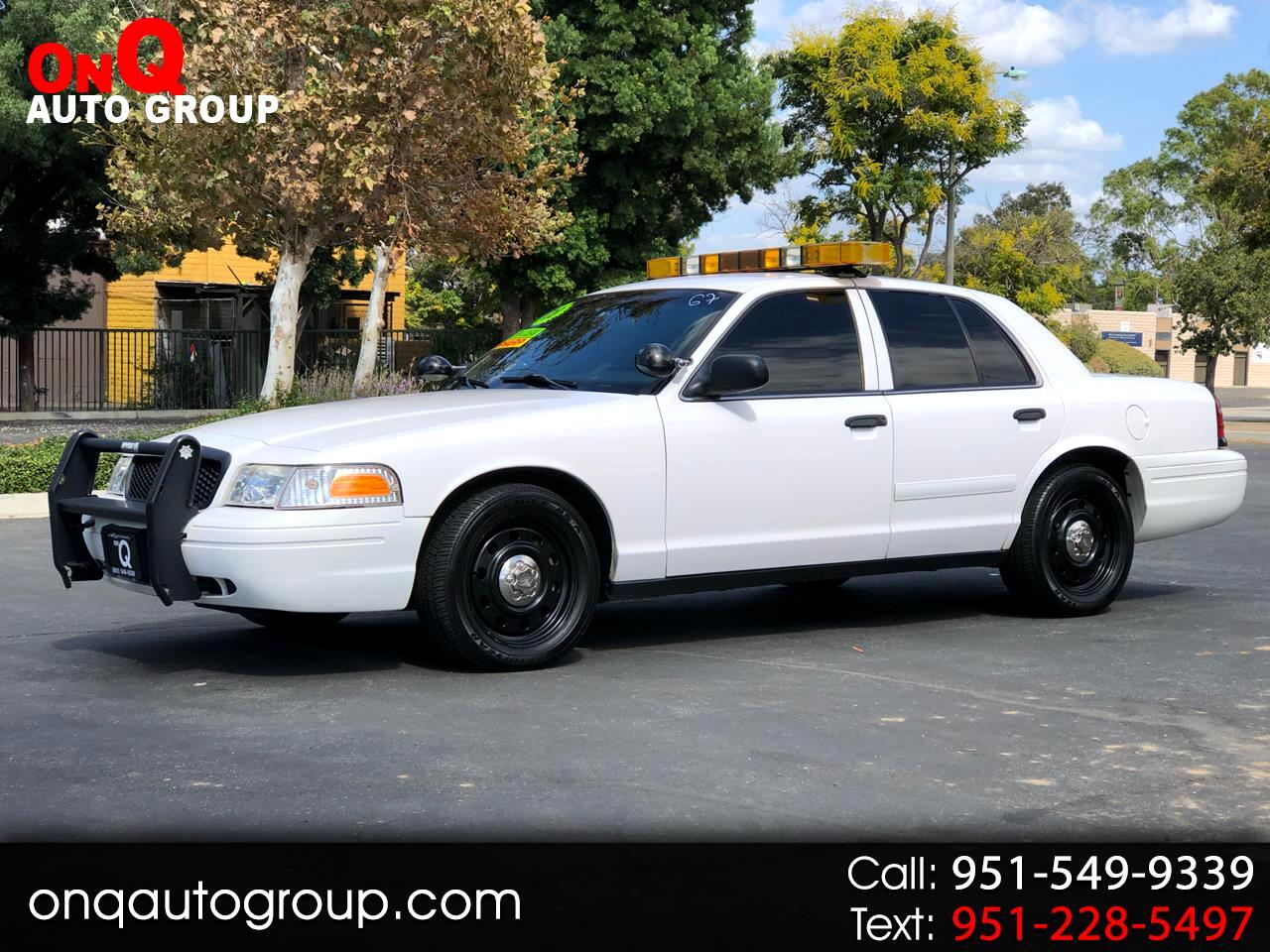 2008 Ford Police Interceptor 4dr Sdn w/3.27 Axle
