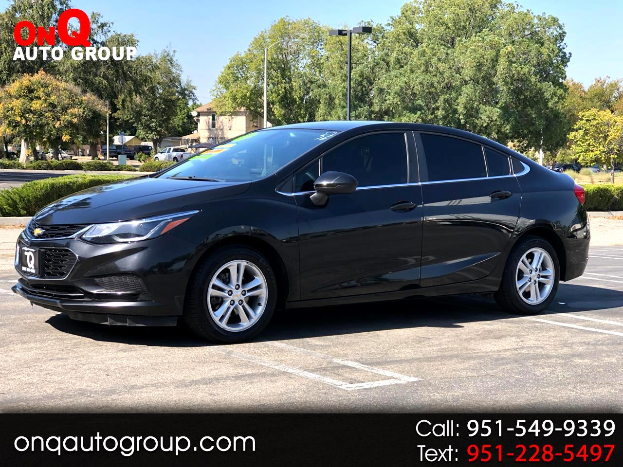 2018 Chevrolet Cruze 4dr Sdn 1.4L LT w/1SD
