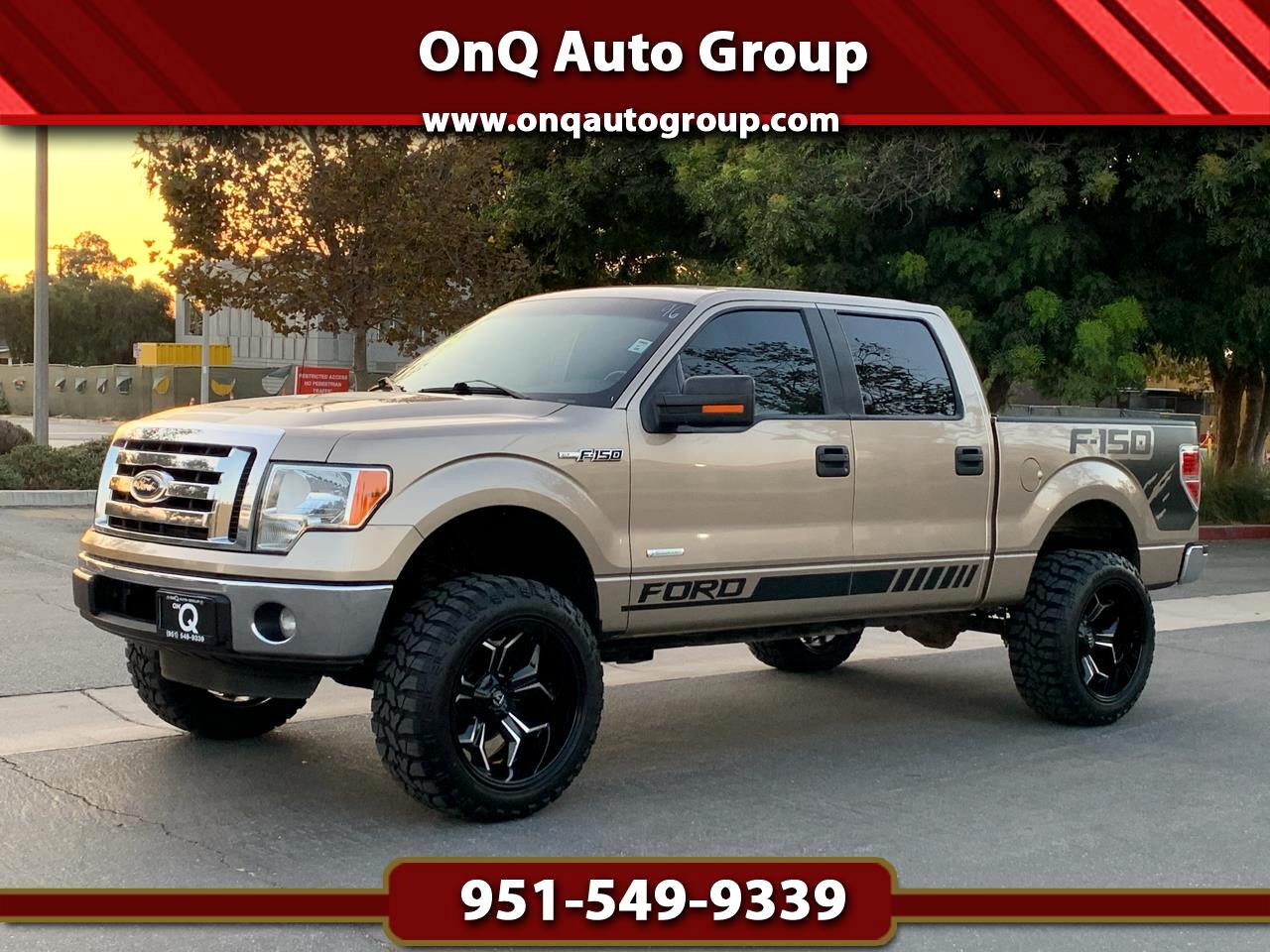 "Ford F-150 2WD SuperCrew 145"" XLT 2011"