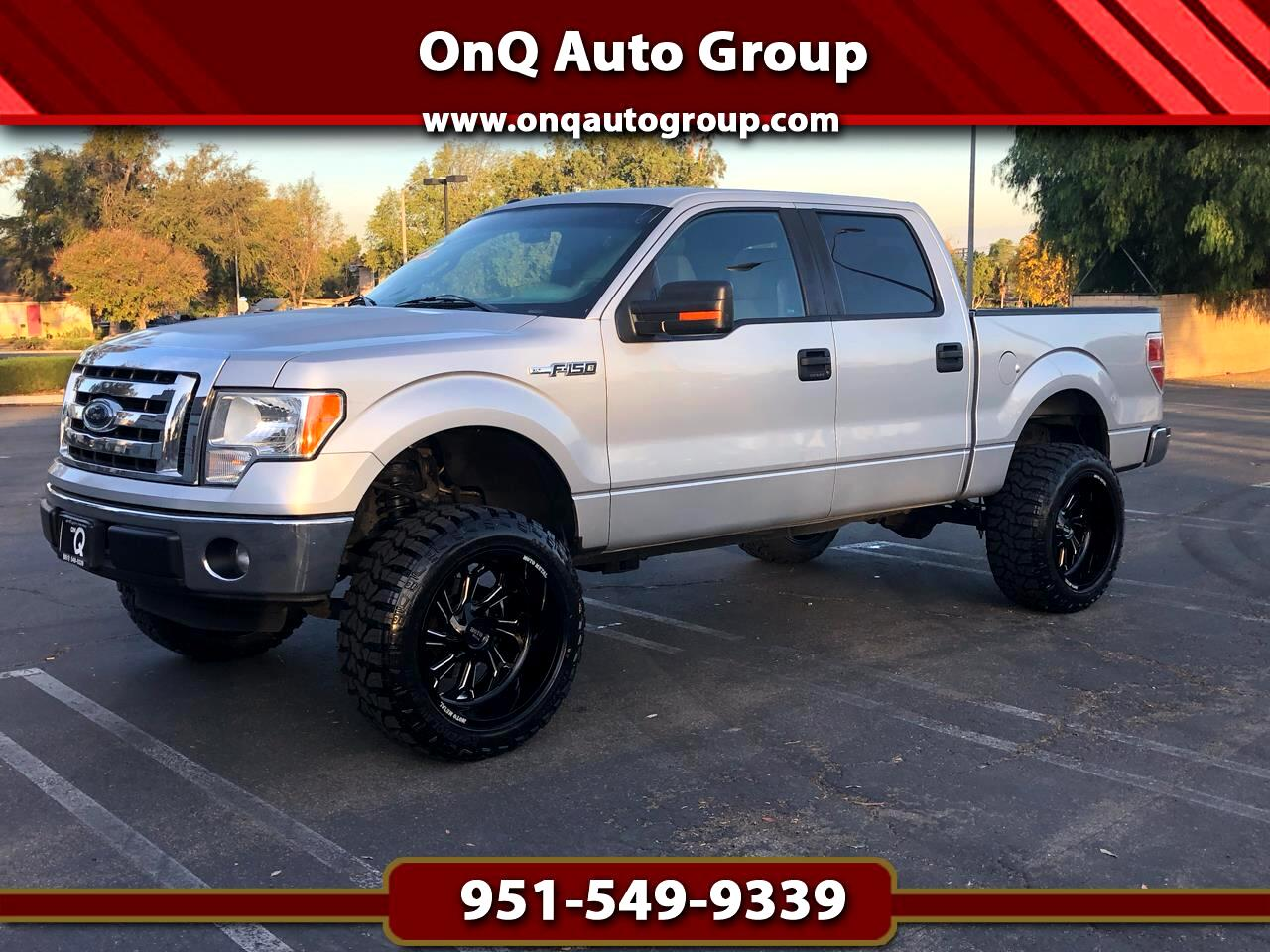 "Ford F-150 2WD SuperCrew 145"" XLT 2012"