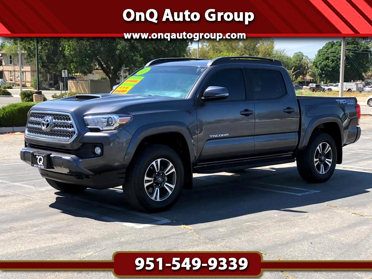 Toyota Tacoma TRD Off Road Double Cab 5' Bed V6 4x4 MT (Natl) 2017