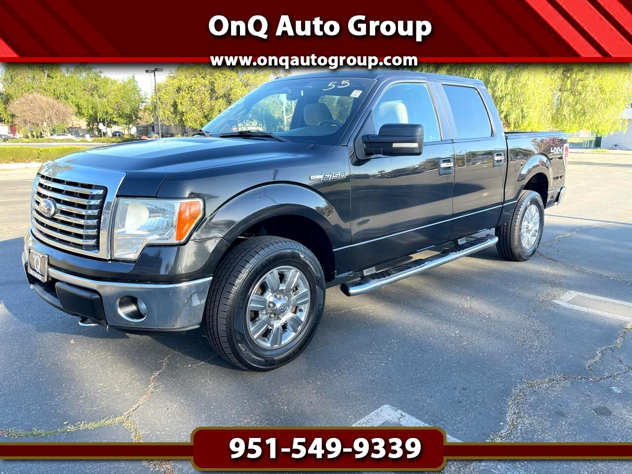 "Ford F-150 4WD SuperCrew 145"" XLT 2010"