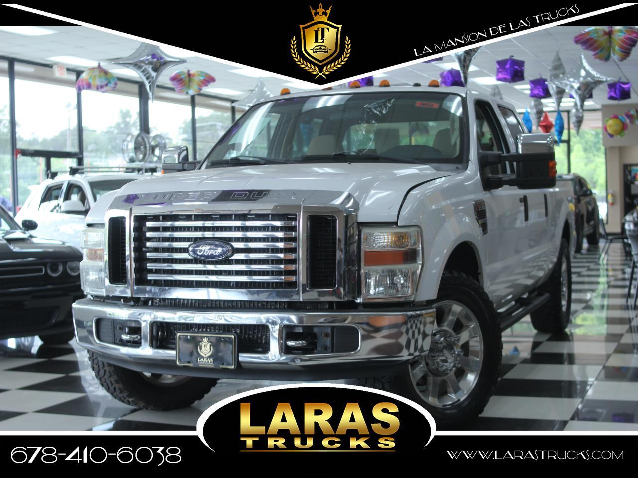 2008 Ford Super Duty F-250 SRW 2WD Crew Cab 156