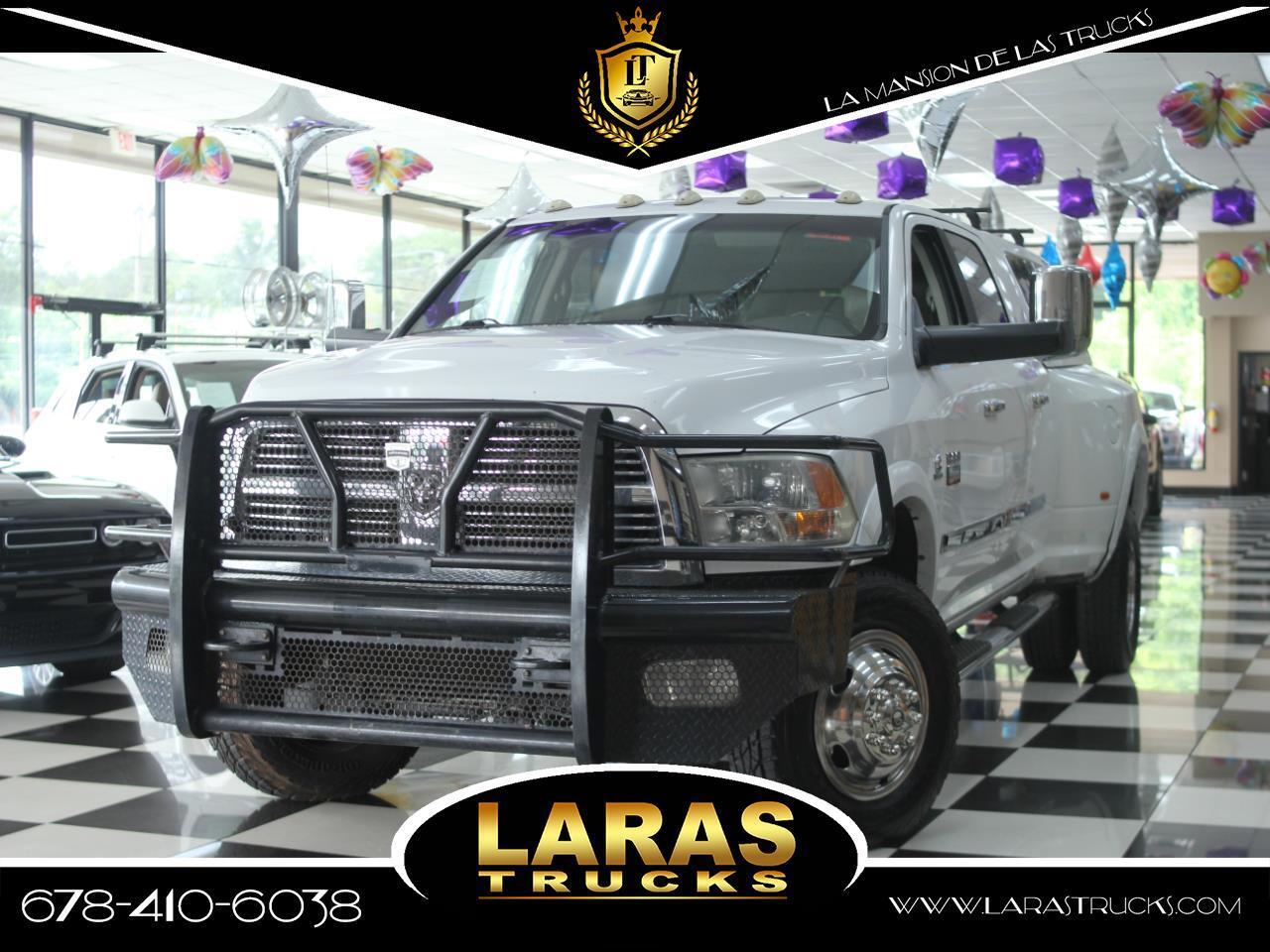 2010 Dodge Ram 3500 4WD Mega Cab 160.5