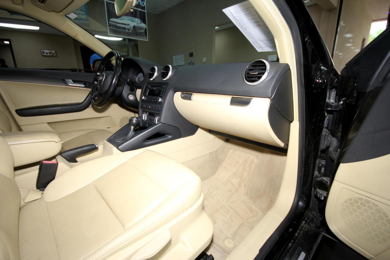 2011 Audi A3 4dr HB S tronic FrontTrak 2.0 TDI Premium