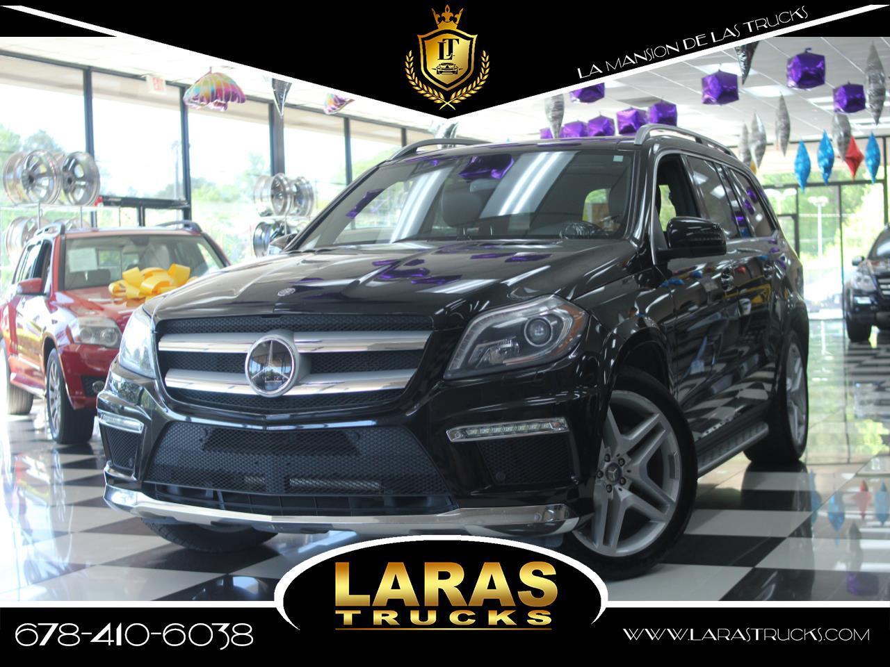 2013 Mercedes-Benz GL-Class 4MATIC 4dr GL 550
