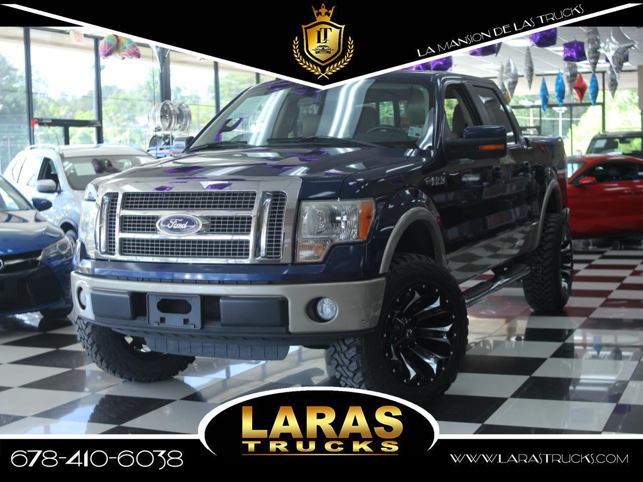 "2010 Ford F-150 2WD SuperCrew 145"" Lariat"