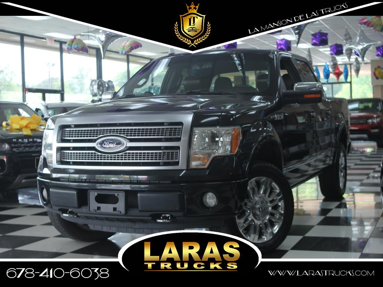 "2009 Ford F-150 2WD SuperCrew 145"" Platinum"