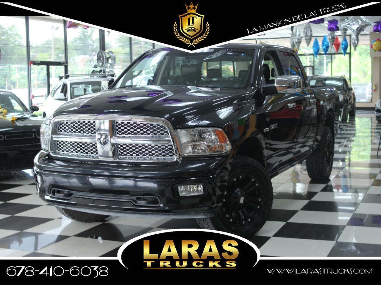 """2010 Dodge Ram 1500 4WD Crew Cab 140.5"""" Laramie"""