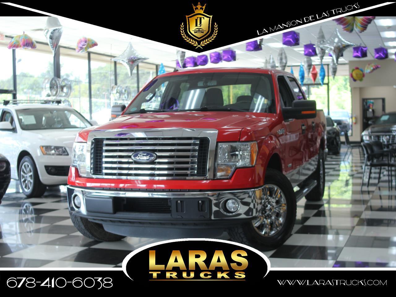 """2011 Ford F-150 2WD Reg Cab 145"""" XLT"""