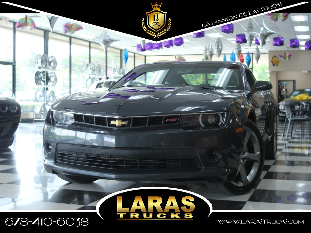 2014 Chevrolet Camaro 2dr Cpe LT w/1LT