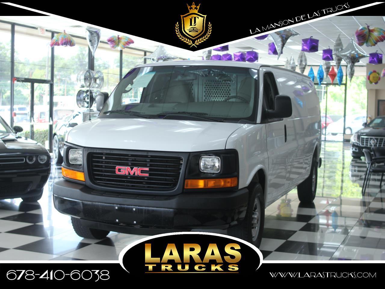 "2015 GMC Savana Cargo Van RWD 2500 155"""
