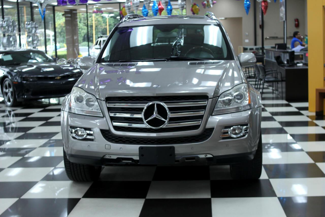 2008 Mercedes-Benz GL-Class 4MATIC 4dr 5.5L