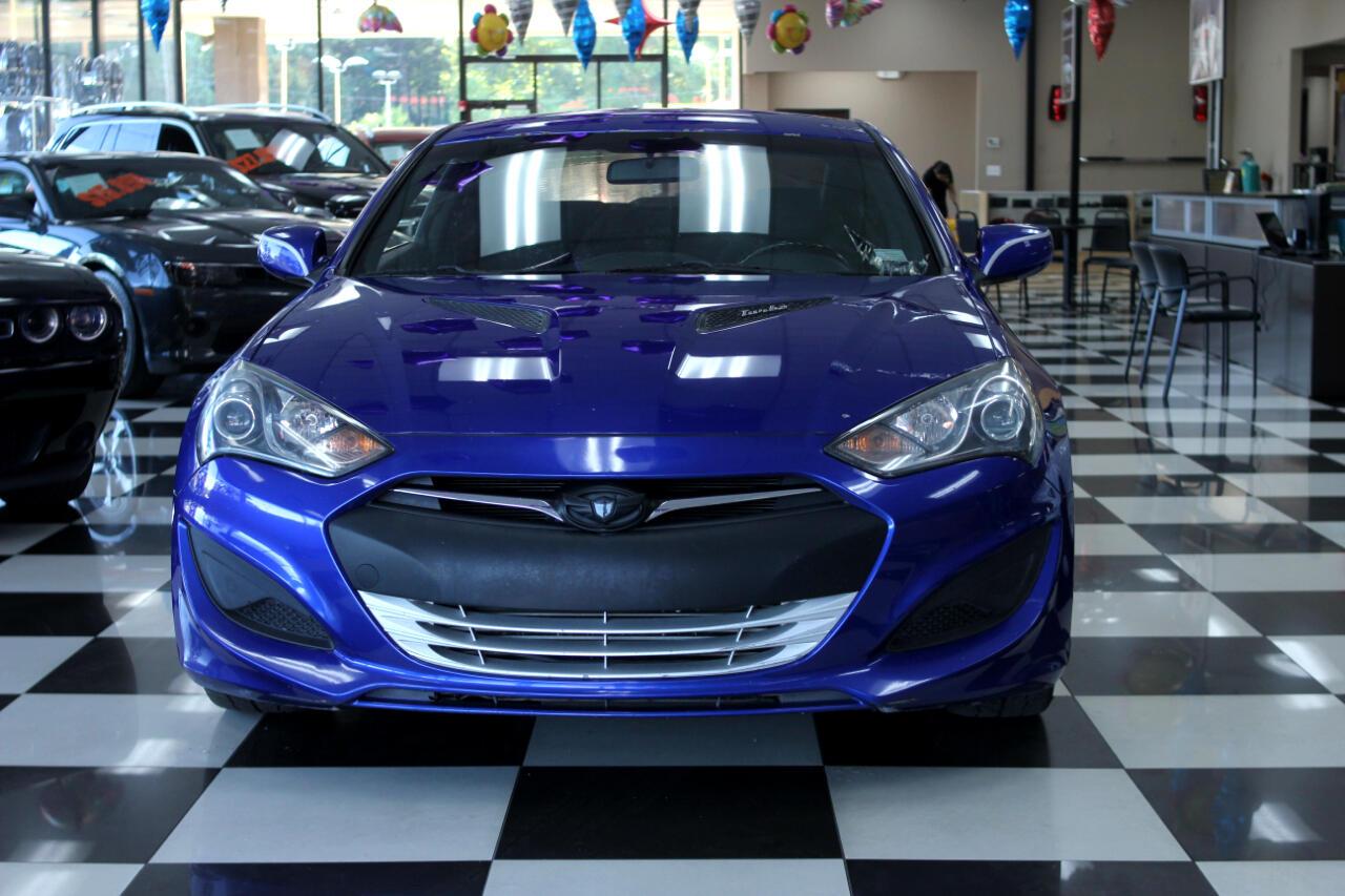 2013 Hyundai Genesis Coupe 2dr I4 2.0T Auto
