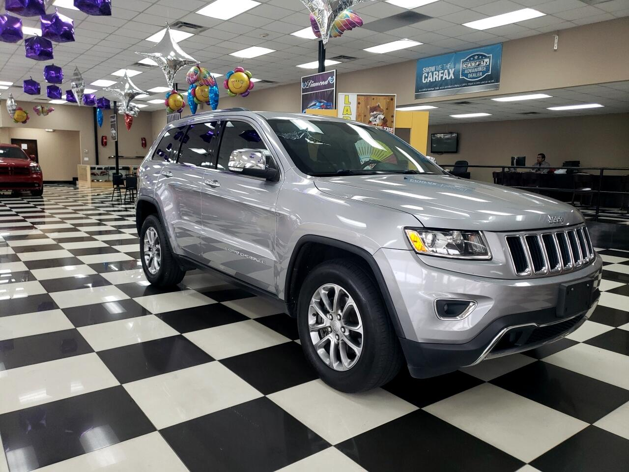 2015 Jeep Grand Cherokee RWD 4dr Limited