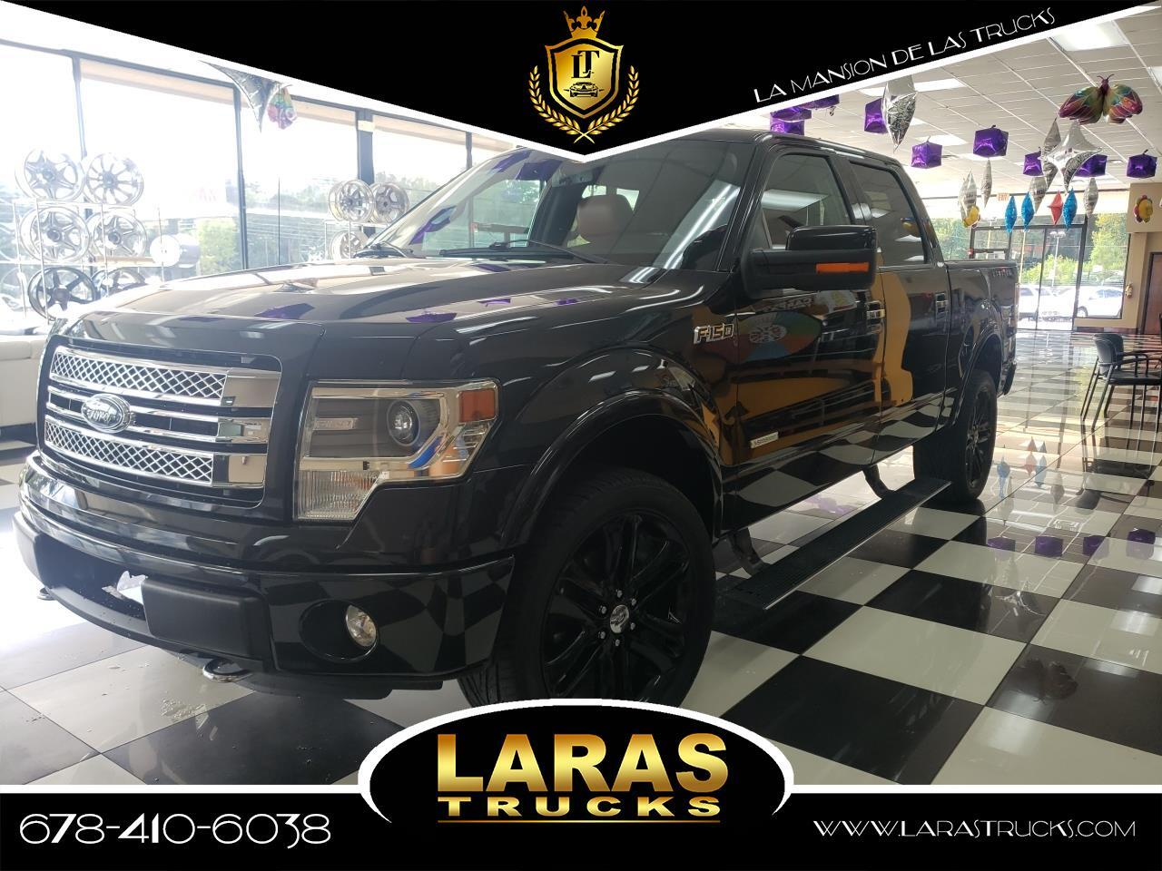 "2013 Ford F-150 2WD SuperCrew 145"" Limited"