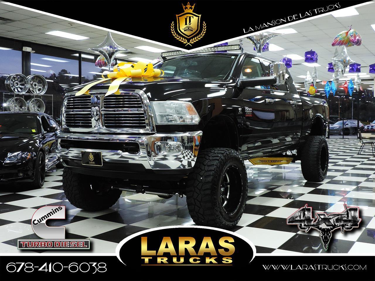"""2011 RAM 2500 4WD Mega Cab 160.5"""" Laramie"""