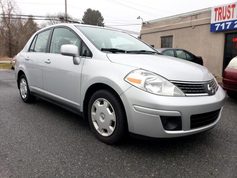 2008 Nissan Versa 1.8 S Sedan
