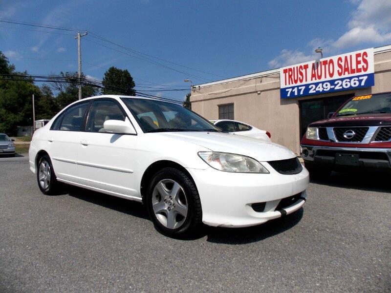 Honda Civic EX sedan AT 2004