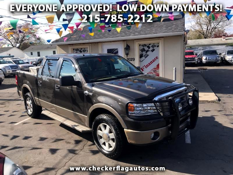 2006 Ford F-150 King Ranch SuperCrew 6.5-ft. Bed 4WD