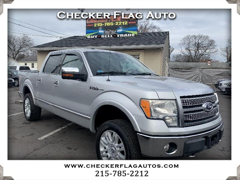 Ford F-150 Platinum 4WD SuperCrew 5.5' Box 2010