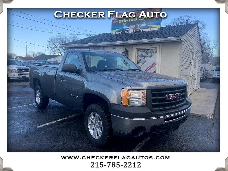 GMC Sierra 1500 Work Truck Long Box 4WD 2012