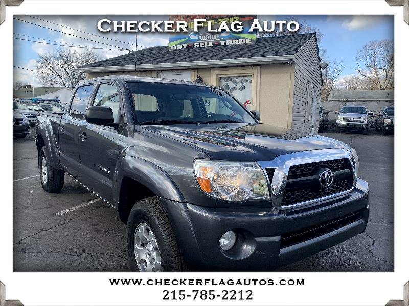 Toyota Tacoma SR5 Double Cab Long Bed V6 6AT 4WD 2011