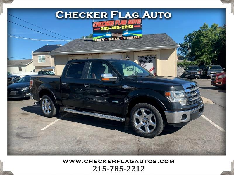 Ford F-150 King-Ranch SuperCrew 5.5-ft. Bed 2WD 2013