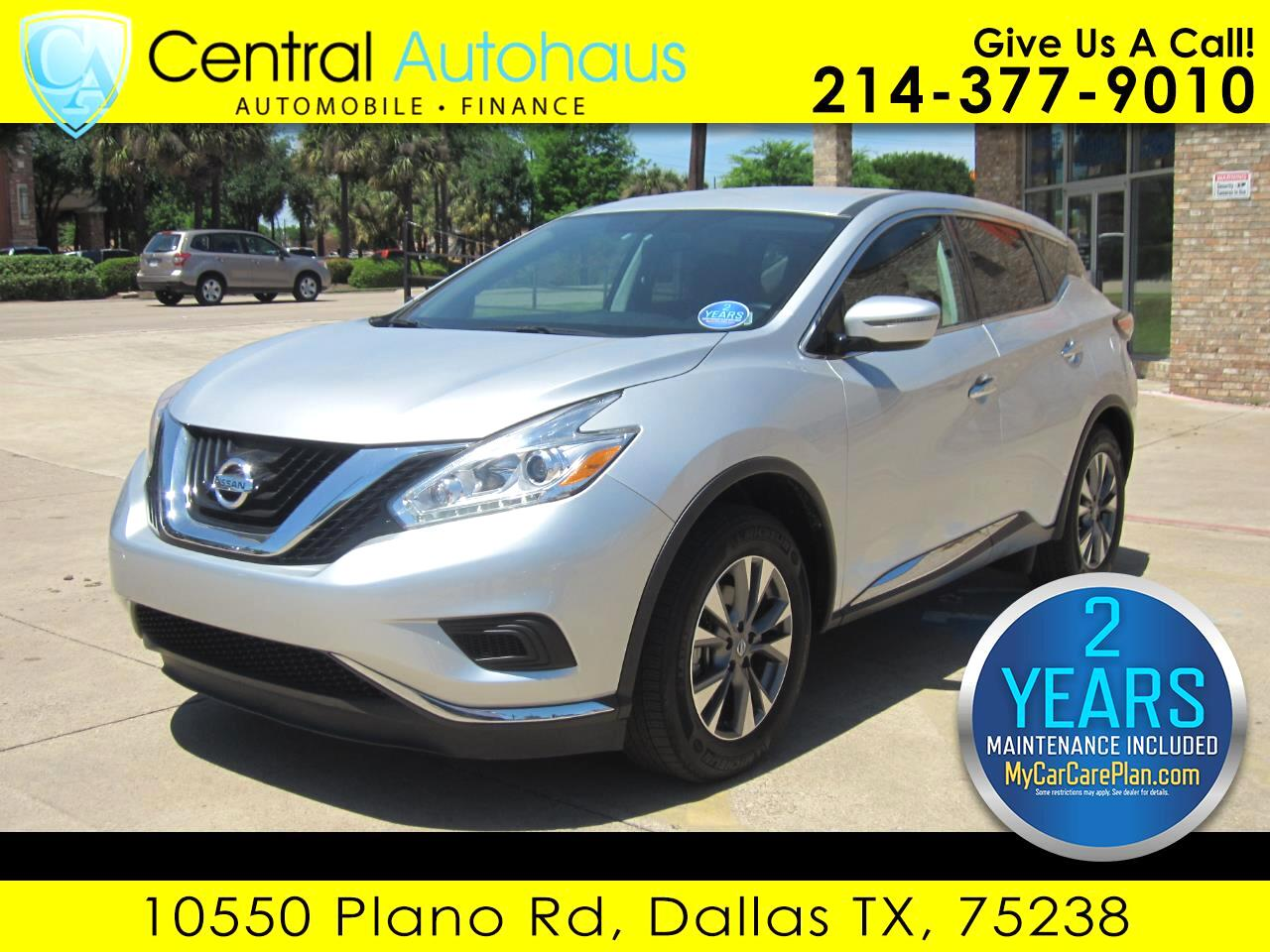 2017 Nissan Murano 4dr S FWD V6