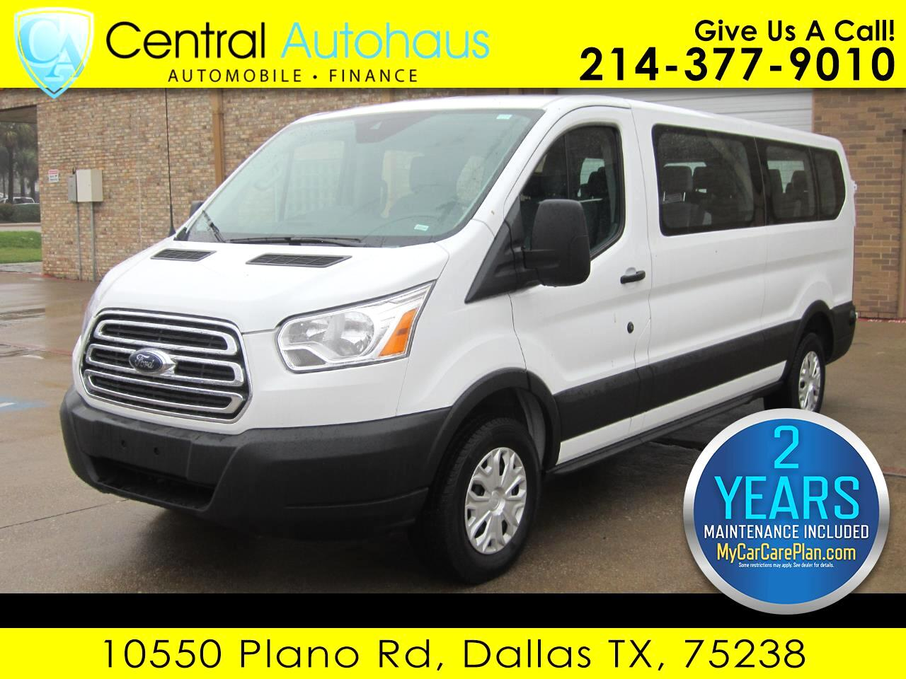 """2019 Ford Transit Passenger Wagon T-350 148"""" Low Roof XLT Swing-Out RH Dr"""