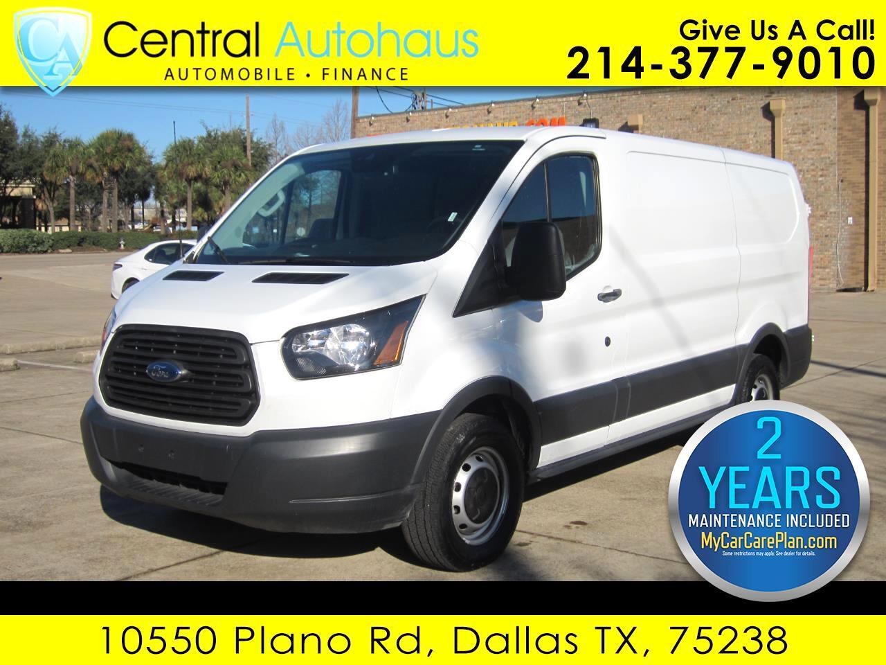 "2017 Ford Transit Van T-150 130"" Low Rf 8600 GVWR Swing-Out RH Dr"