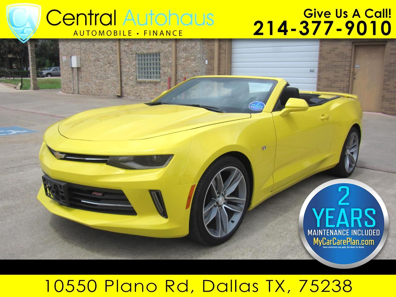 2018 Chevrolet Camaro 2dr Convertible RS