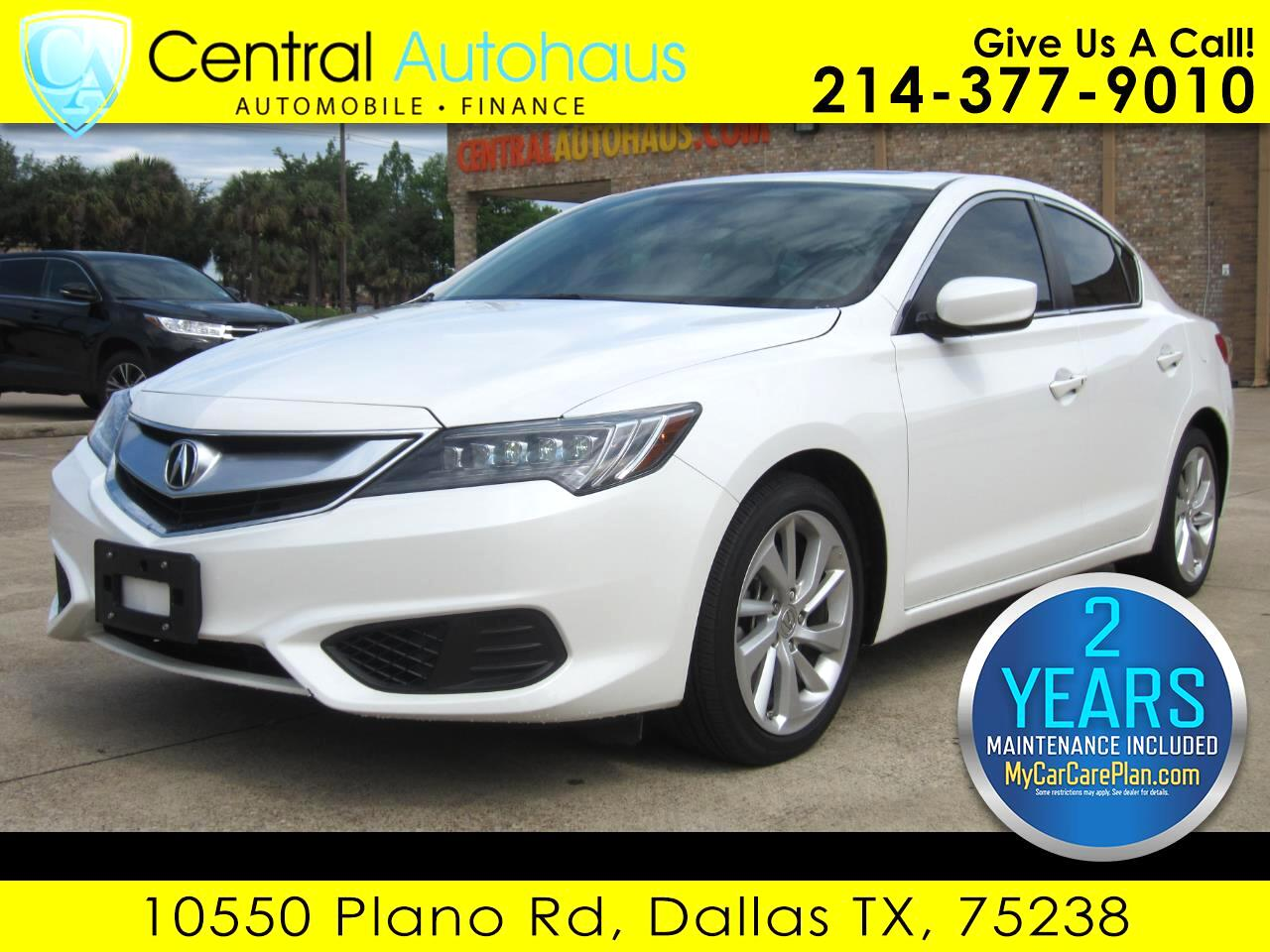 2016 Acura ILX 5-Spd AT w/ Technology Package