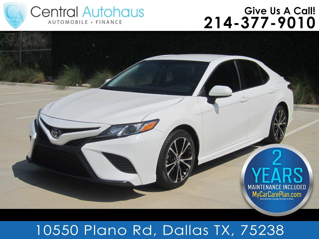 Toyota Camry 4dr Sdn SE Auto (Natl) 2018