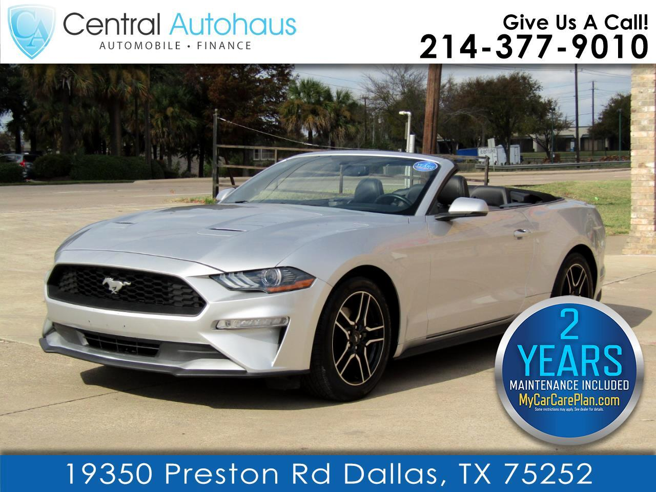 Ford Mustang EcoBoost Convertible 2019