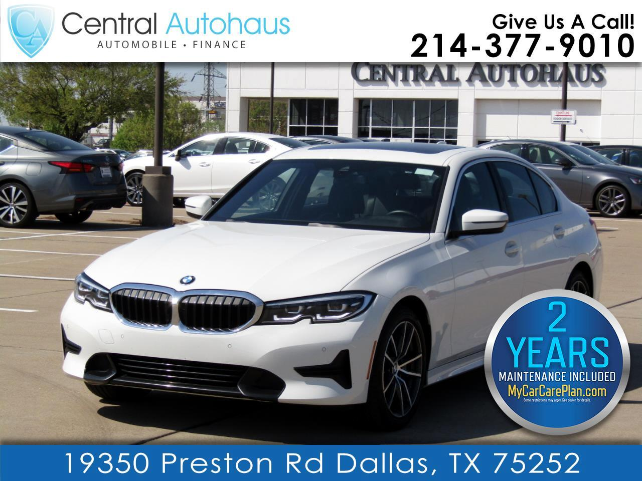 BMW 3 Series 330i Sedan North America 2020