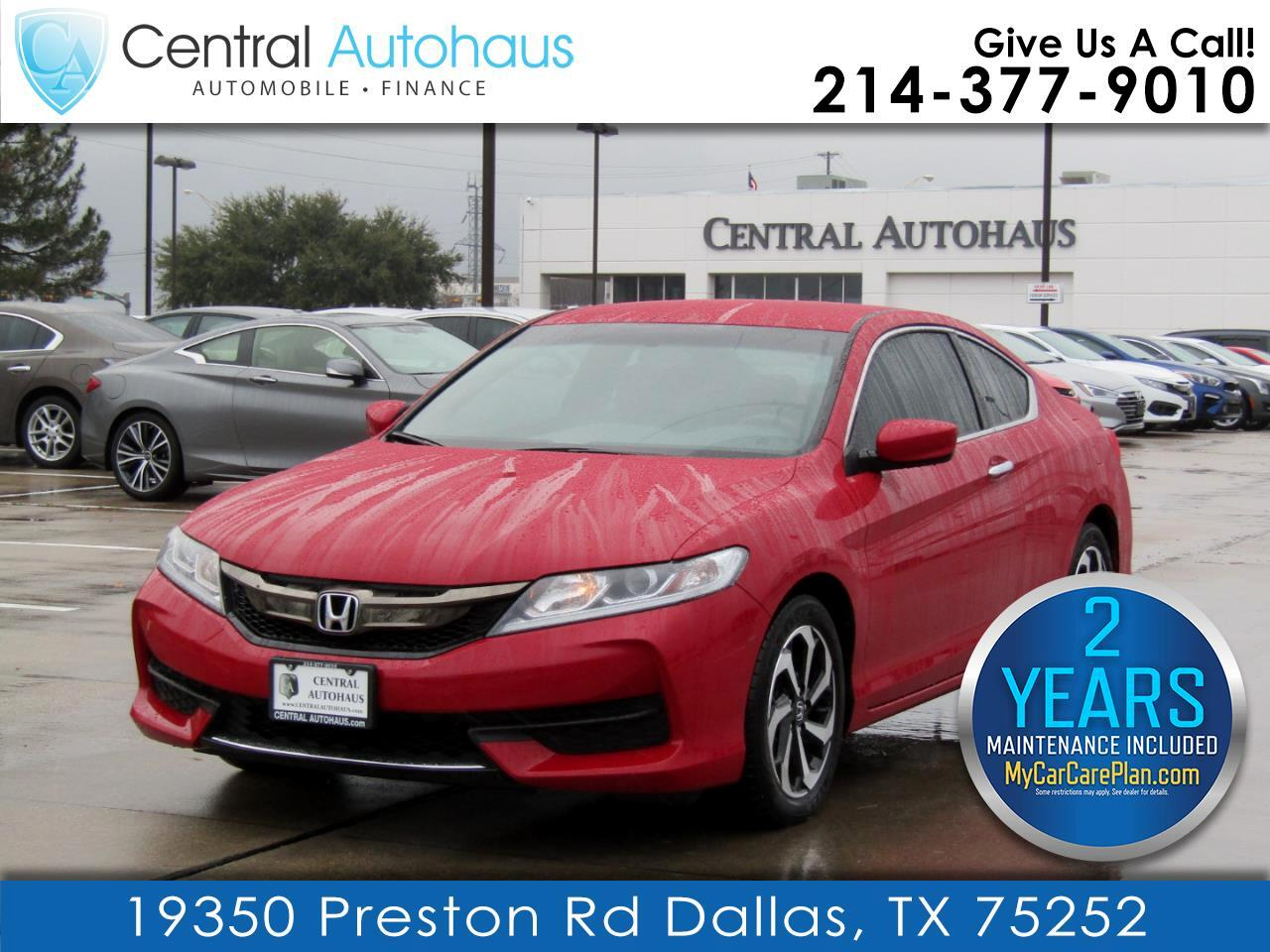 Honda Accord Coupe LX-S CVT 2017