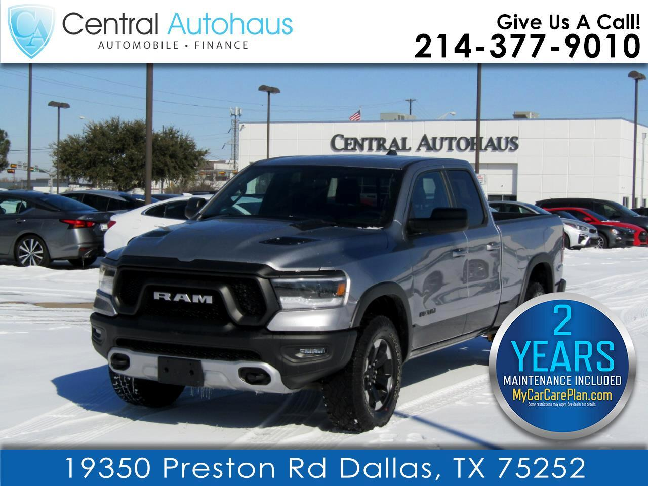 "RAM 1500 Rebel 4x4 Quad Cab 6'4"" Box 2020"