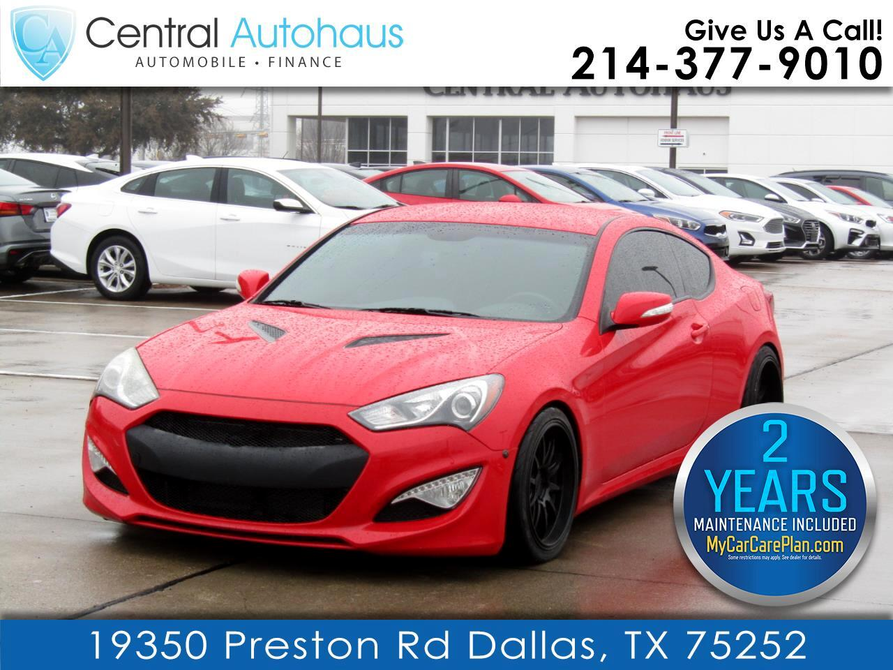Hyundai Genesis Coupe 2dr 3.8L Man Base w/Black Seats 2016