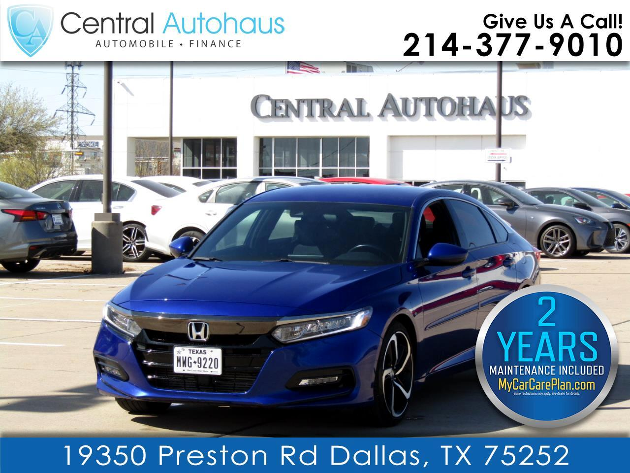 Honda Accord Sedan Sport 1.5T CVT 2018