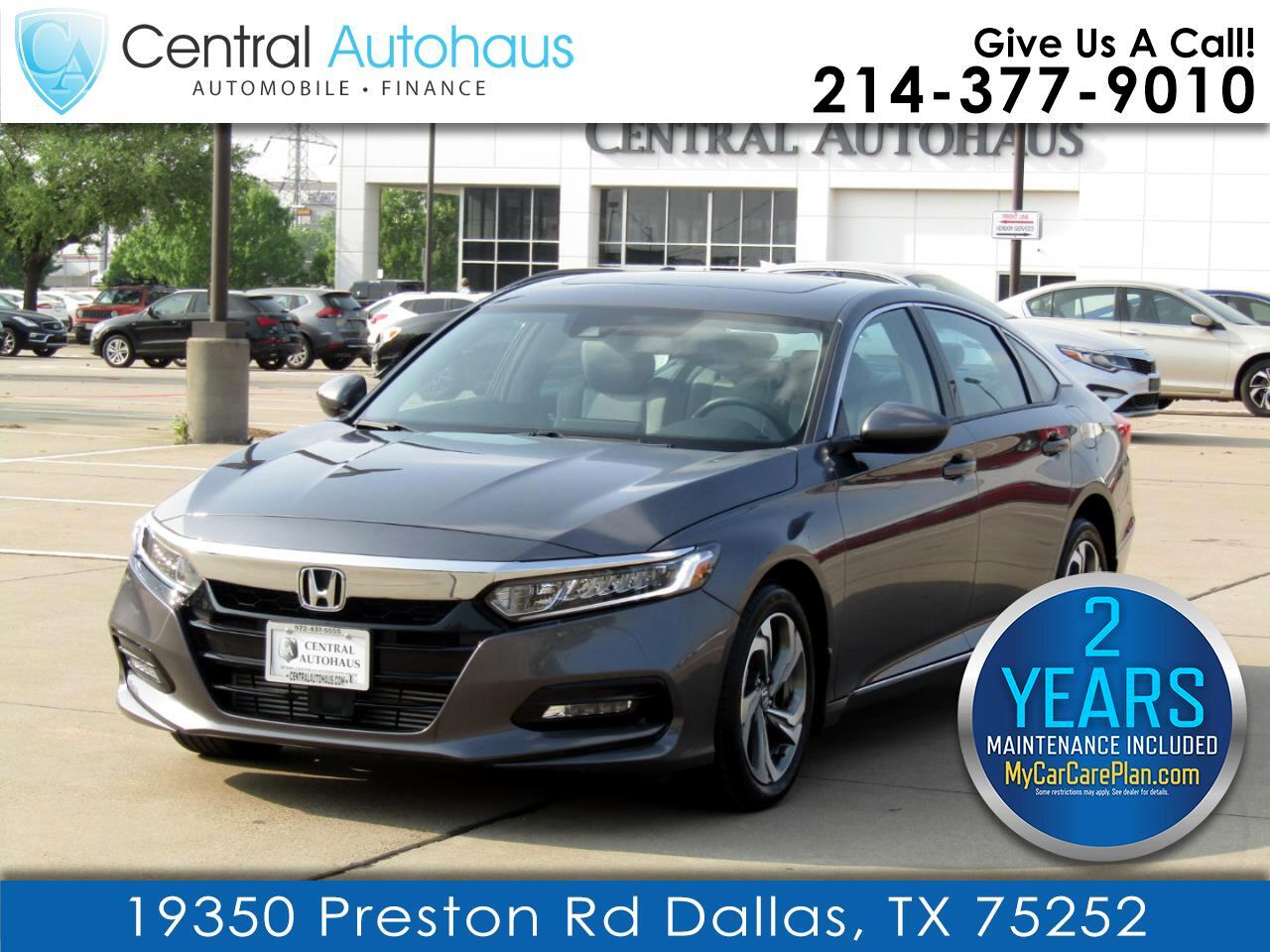 Honda Accord Sedan EX 1.5T CVT 2020