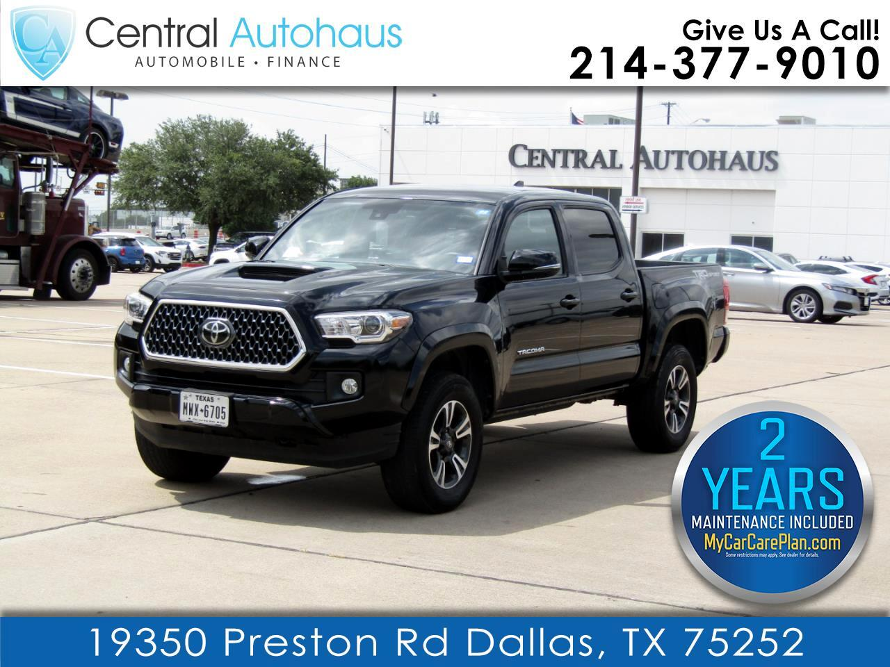 Toyota Tacoma 2WD TRD Sport Double Cab 5' Bed V6 AT (Natl) 2019