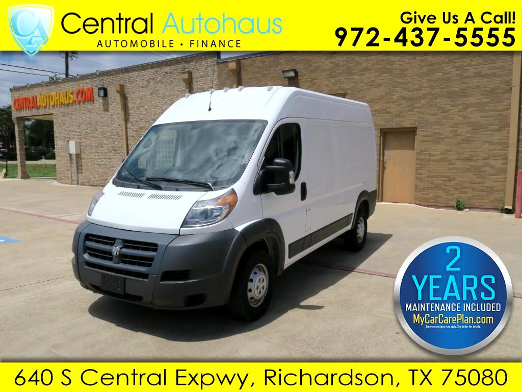 2018 RAM Promaster 2500 High Roof Tradesman 136-in. WB