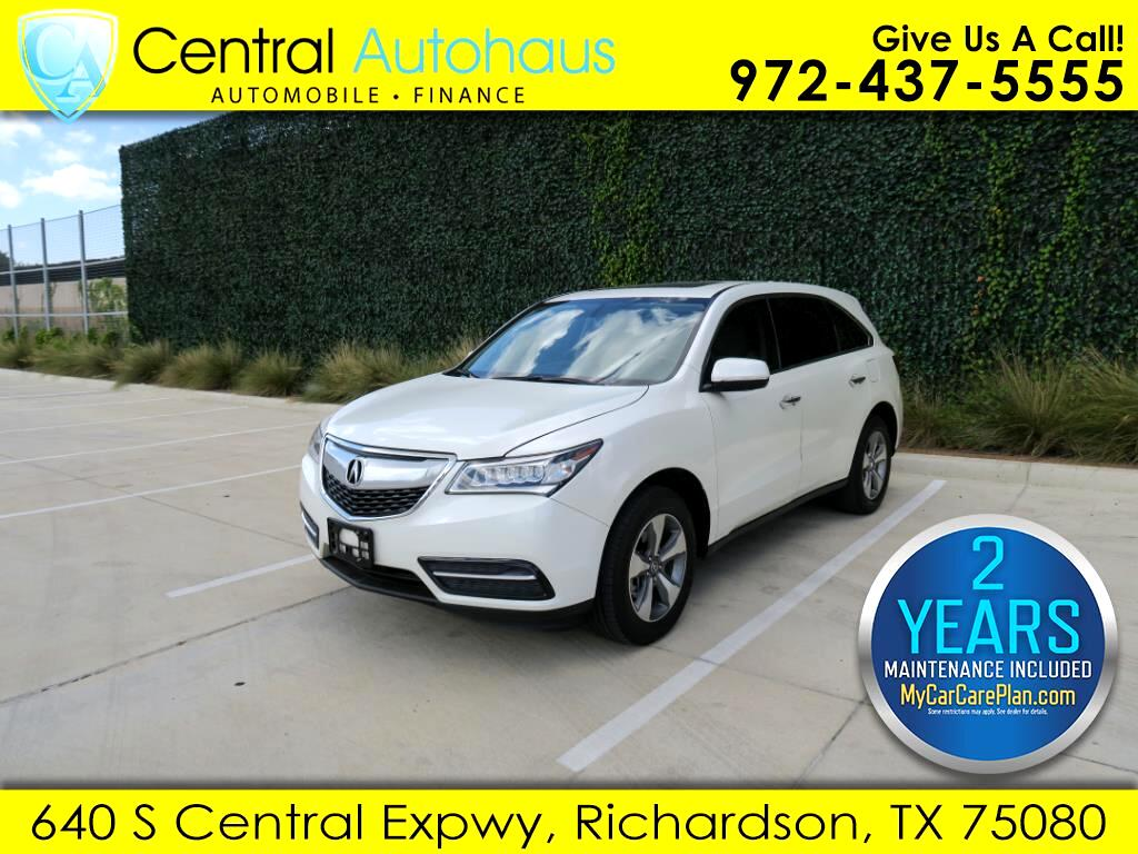 2016 Acura MDX 9-Spd AT