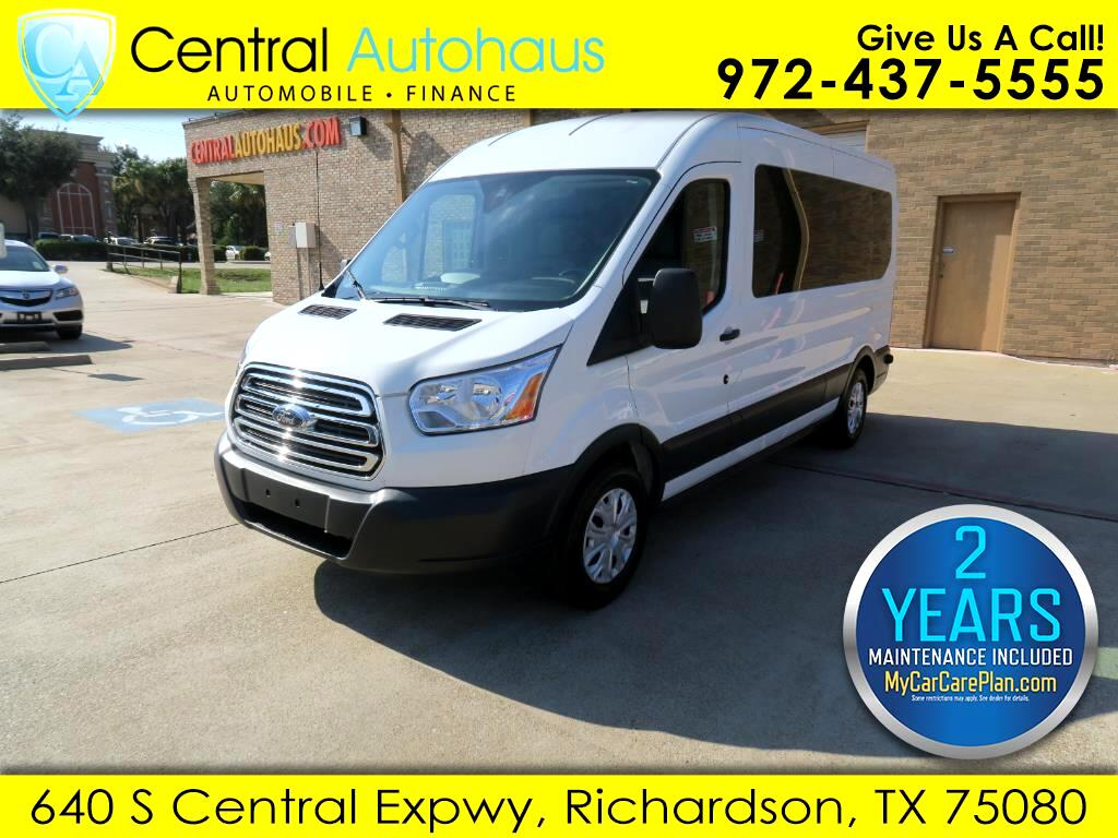 2017 Ford Transit Passenger Wagon HIGH ROOF 14 PASSENGER