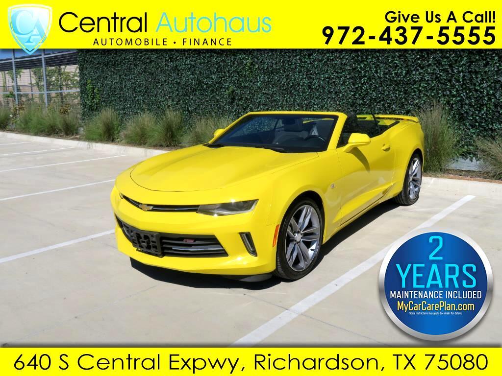 2018 Chevrolet Camaro 2dr Conv LT w/1LT