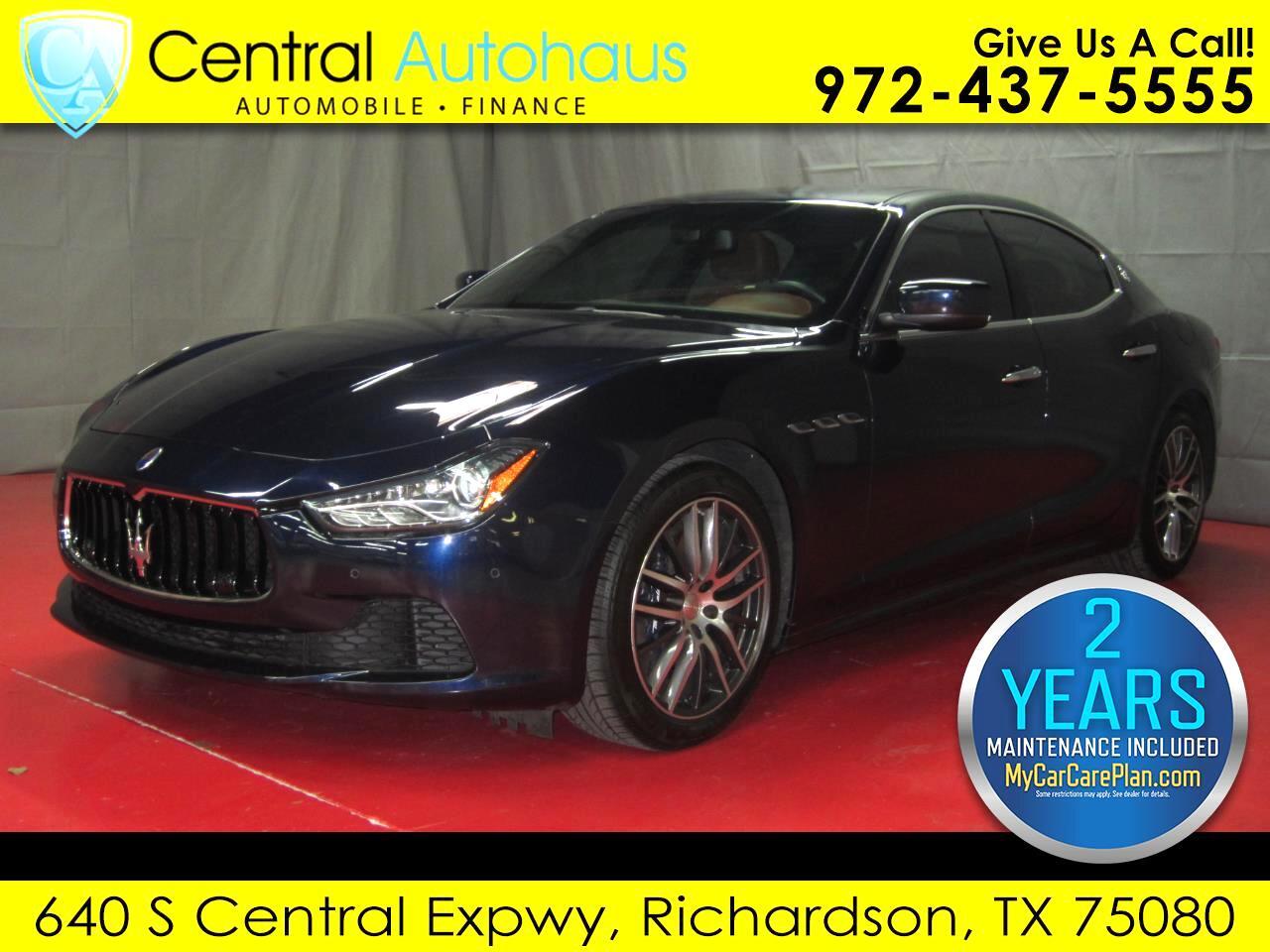 2015 Maserati Ghibli 4dr Sdn