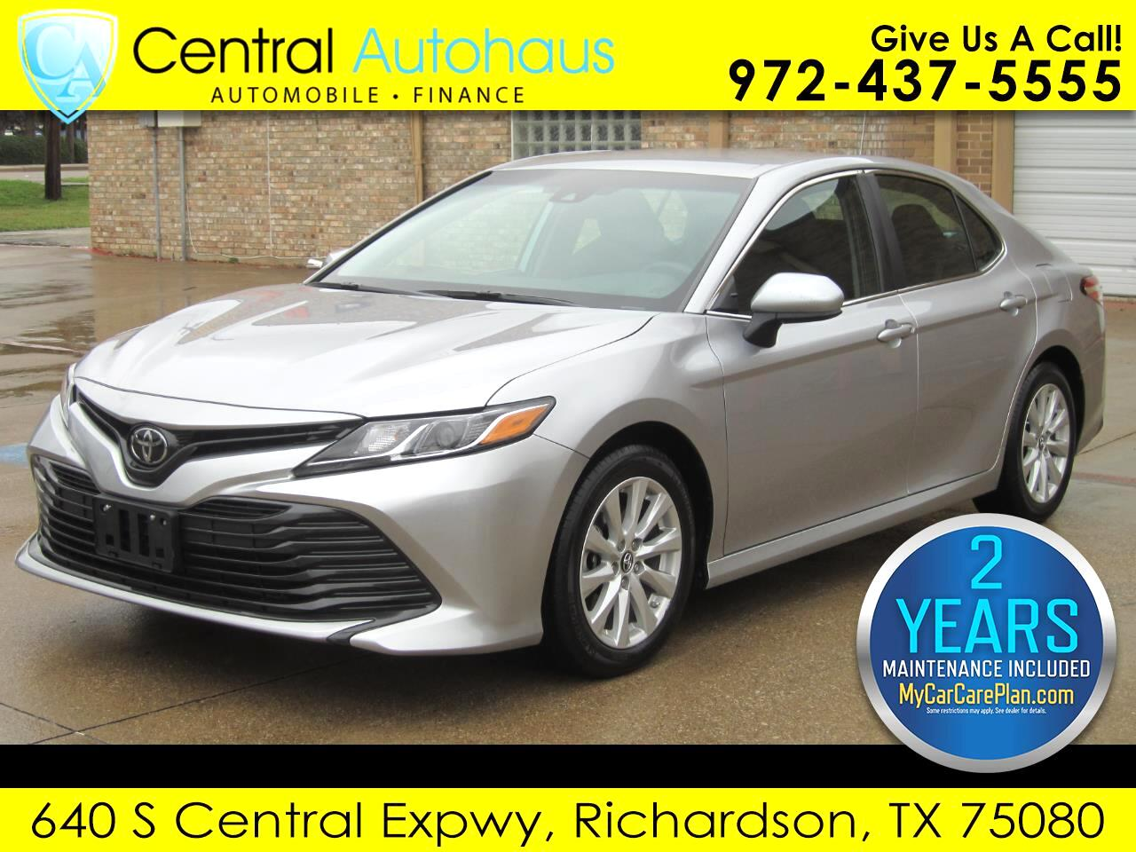 2018 Toyota Camry 4dr Sdn LE Auto (Natl)