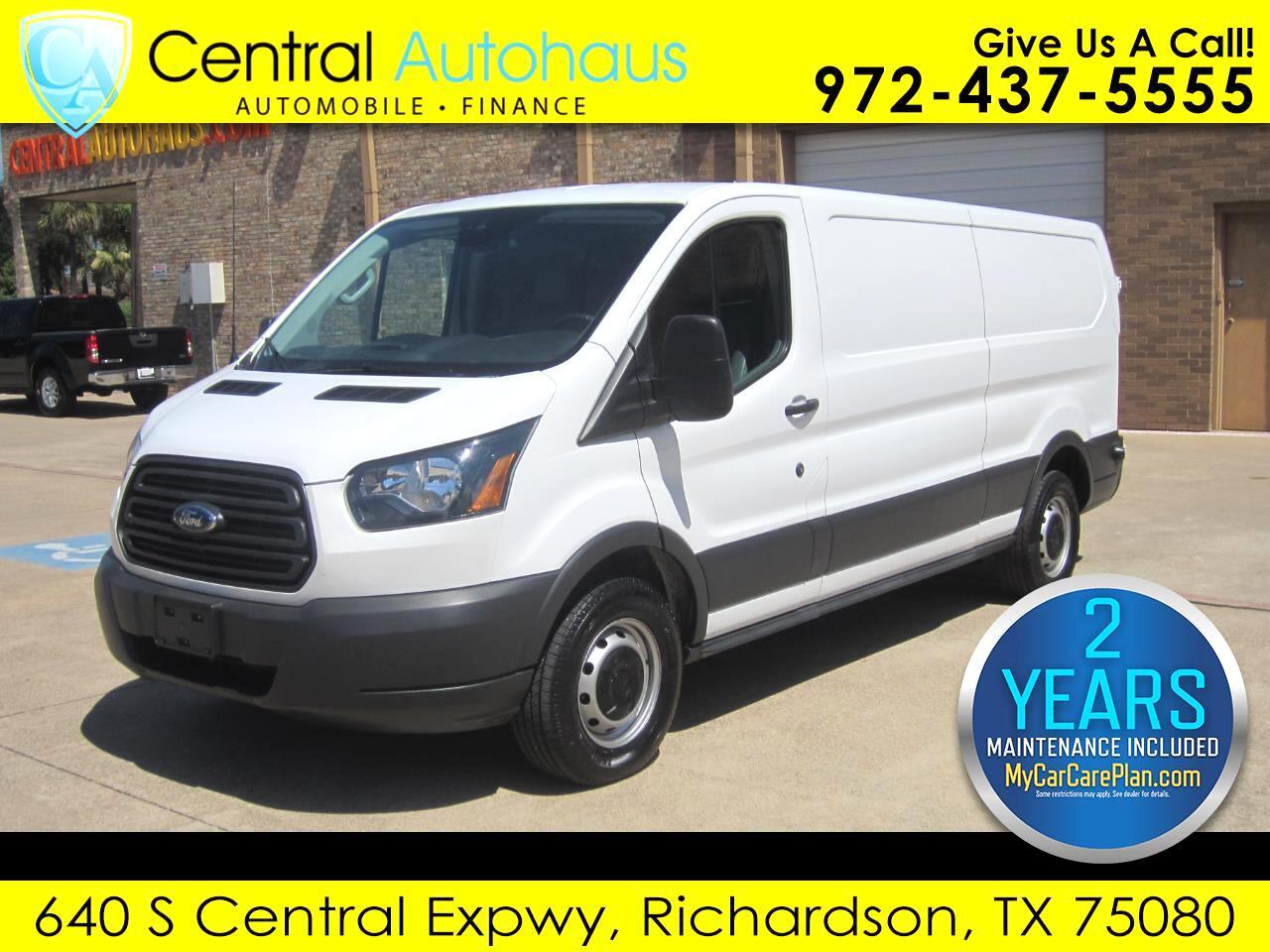 "2018 Ford Transit Van T-150 148"" Low Rf 8600 GVWR Swing-Out RH Dr"
