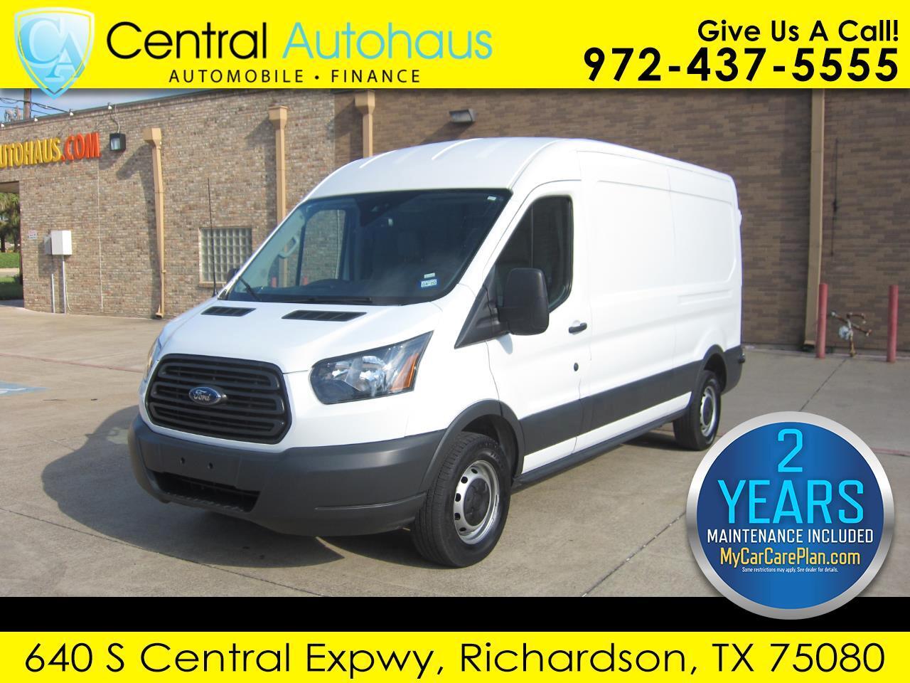 "2018 Ford Transit Van T-150 148"" Med Rf 8600 GVWR Sliding RH Dr"